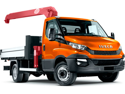 Iveco Daily 70C15 Манипулятор